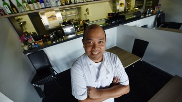 Chef and owner Moe Oo.