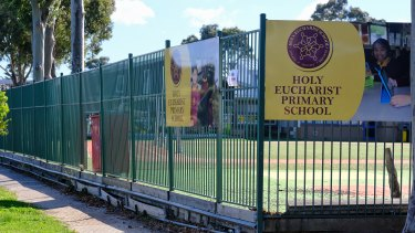 Holy Eucharist Primary School in St Albans.