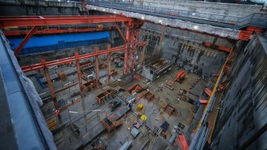 Melbourne's West Gate Tunnel is among the infrastructure projects being built by CIMIC.