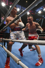 'The Fighting Cowboy' Ritchie kept Tszyu on his toes.
