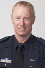 Deputy Commissioner Rick Nugent.