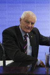 Former AFP commissioner Mick Palmer.