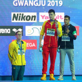 Mack Horton made headlines with his podium protest against Sun Yang at the world championships in 2019 in South Korea.