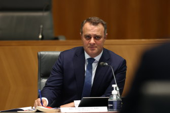 Speaking out: federal backbencher Tim Wilson said sentiment on border closures will eventually flip.