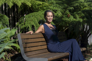 Rebekah Giles chairs the Centennial Parklands Foundation. The park was one of the places Giles visited during her rehabilitation from the injuries she sustained in the Boxing Day tsunami.