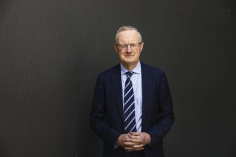 Reserve bank Governor Philip Lowe, ahead of his address to the National Press Club in Canberra in February.