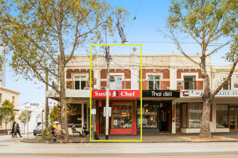 A strata-titled, 130 sq m two-storey shop at 193 Clarendon Street sold for $1,022,000.