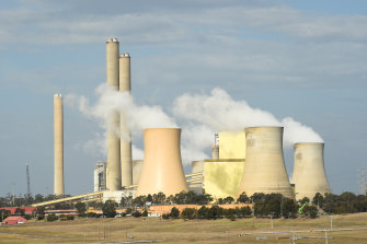 AGL operates the Loy Yang A coal-fired power plant in Victoria's Latrobe Valley.
