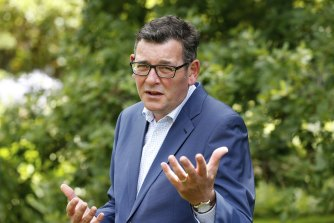 Daniel Andrews has raised the prospect of further border announcements later this month.