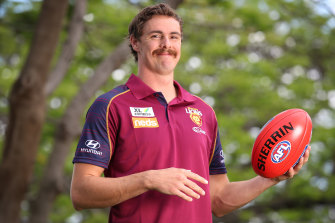 Joe Daniher is embarking on a fresh start at the Brisbane Lions.
