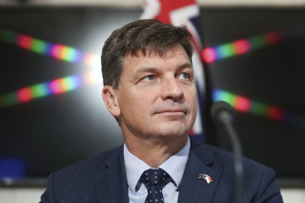 Federal Energy Minister Angus Taylor said the agreement with Victoria to support the Keranglink, also known as the VNI West project, would 'create new jobs, put downward pressure on prices, and shore up the reliability of the grid'.
