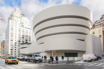 New York's Guggenheim Museum was added to the world heritage list.