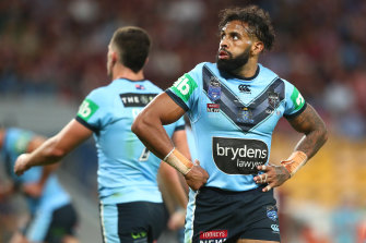 Josh Addo-Carr believes he would have scored a try if not for Corey Allan's intervention.