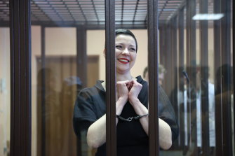 In Belarus, opposition activist Maria Kolesnikova was jailed for 11 years for conspiracy and participating in an extremist group.