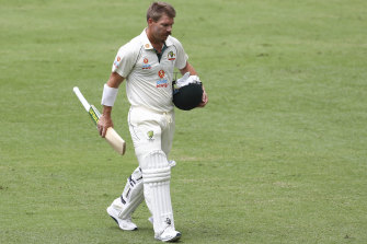 David Warner has admitted he regrets rushing back from injury to open the batting for Australia in the final two Test matches.
