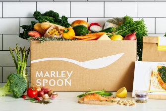 Meal-kit provider Marley Spoon fell 22 per cent on the ASX this afternoon.