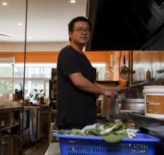 Yu Fisher, manager of Mr Xiaomian Noodle Bar.