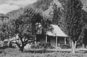 The Wonnangatta station homestead in 1935.