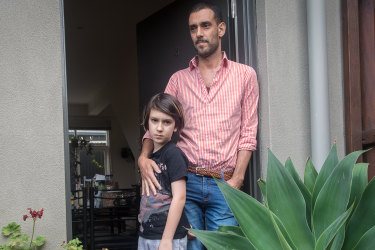 Miguel lost his job as a chef. Now he and his son may lose their home in ban confusion