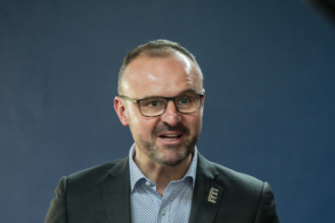 ACT Chief Minister Andrew Barr foreshadowed the introduction of the wellness index in a speech last month.