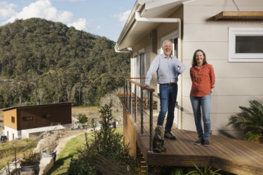 Living lightly on the planet: The home owners with $3.65 electricity bills