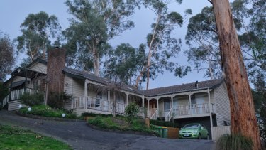 The house in Selby that was allegedly renovated by sky rail workers.