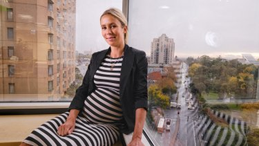 Eva Bauer at her office in Melbourne.