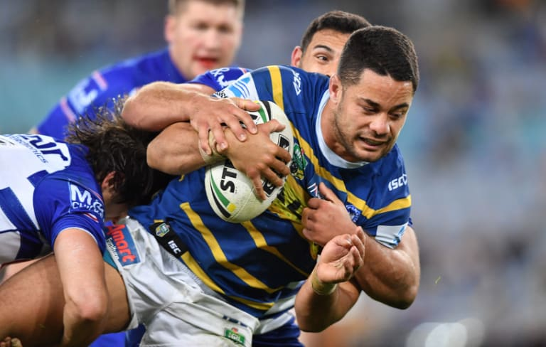 In limbo: Jarryd Hayne is yet to re-sign with the Eels.