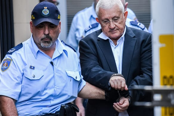 A shell-shocked Ron Medich betrayed little emotion as he was declared a killer