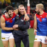 'I feel for our supporters': Hopes of MCG grand final fade as Demons seek news on pre-finals bye