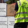 Australian-made AstraZeneca vaccines arriving in Timor-Leste.