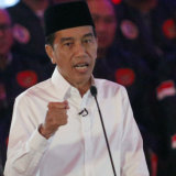 The explosion occurred during the second presidential debate featuring Indonesian President Joko Widodo.