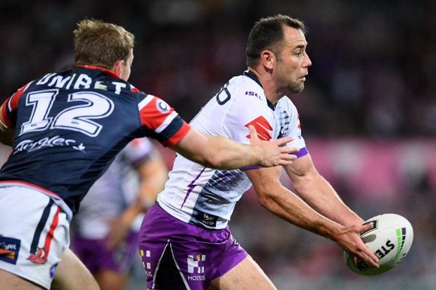 Cameron Smith has been tipped to play on by Storm teammate and namesake Brandon Smith.