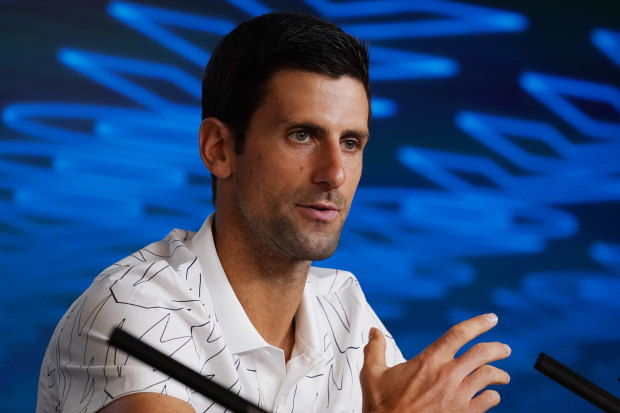 Last stand: Defending Australian Open champion Novak Djokovic says the young stars of tennis will soon have their day.