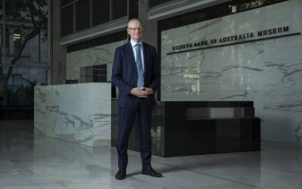 Reserve Bank Governor Philip Lowe on Tuesday.