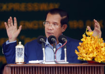 Cambodia's Prime Minister Hun Sen has made no apology for accepting Chinese investment.