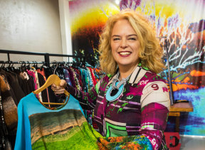 Melbourne designer Tiffany Treloar.