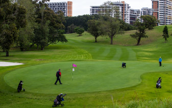 The lord mayor wants to reduce Moore Park golf course from 18 holes to nine to provide more parkland for residents.