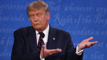 US President Donald Trump's handling of the coronavirus is considered a failure.