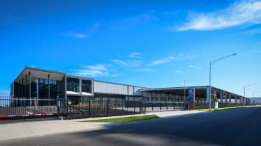 KeyWest Distribution Centre developed by Stockland at Truganina, Victoria.