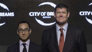 Payday for James Packer and Lawrence Ho.
