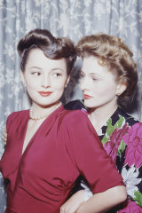 Hollywood's longest sibling feud, between Gone With The Wind star Olivia de Havilland, left, and sister Joan Fontaine, allegedly began when Olivia, then six, accidentally hurt her sister in a pool.