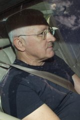 Ron Medich, pictured in December 2010 after he was released from Silverwater prison on bail.