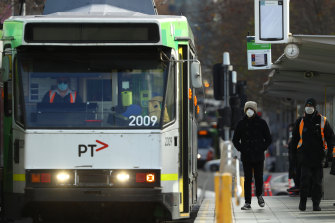 Enforcing the mask mandate on public transport could see Melbourne commuters return to trams and trains.