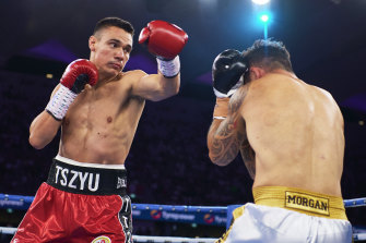 Tim Tszyu capped a breakout year in style, winning his second straight stadium fight in little more than 90 seconds.