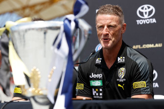 Richmond insist it never considered sacking Damien Hardwick.