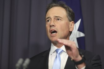 Health Minister Greg Hunt expects the first phase of the rollout to take six weeks.