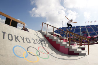 Which sport will join the once-unlikely skateboarding on the Olympic rotation come Brisbane 2032?