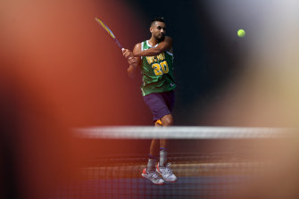 Main attraction: Nick Kyrgios is unique, both on and off the court.