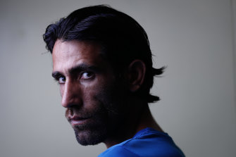Behrouz Boochani has been in NZ on a one-month visitor's visa since November.